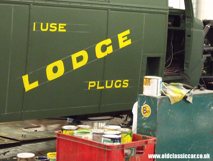Advertising Lodge plugs