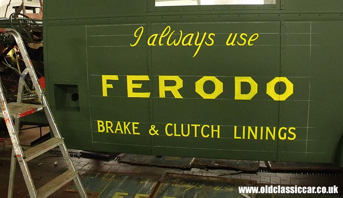 Signwriting for Ferodo