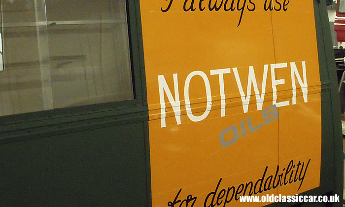The Notwen Oils sign is updated